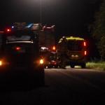 Trafikolycka vilt lv 653