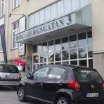 Entren till Högabergsgatan 3