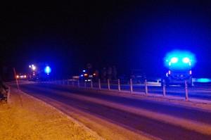 Trafikolycka E22 Ronneby östra