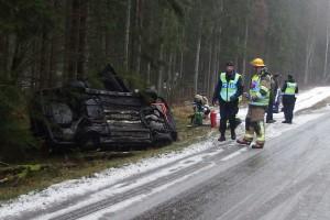 bil voltat söder om Strömsberg