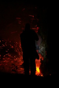 Brand i stubbe Skönstavik