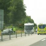 Trafikolyckor E22 Ronneby västra