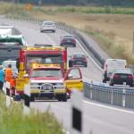 Haveri trafikolycka E 22 Förkärla