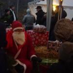 Tomten på Fridlevstad julmarknad