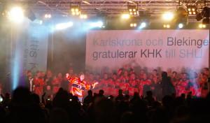 KHK firas på Stortorget