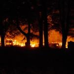 Brand Ladugård Norra Boasjö