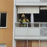Lägenhetsbrand Lyckeby