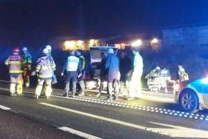trafikolycka rv 27 b hoby avfarten