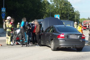 Trafikolycka Marieberg