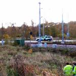 Trafikkaos Verkökrysset tågbommar fällda