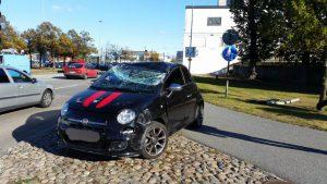 Trafikolycka Skeppsbrokajen Karlskrona