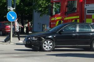 Trafikolycka Järnvägstorget Karlskrona