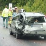 Trafikolycka E22 Jämjö Fågelmara