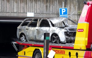 Efterspel brand i garage Kungsmarksvägen