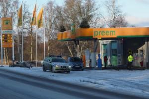 Inbrott på macken i Holmsjö
