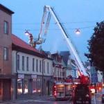 Branden på Kungsgatan 14 Ronneby