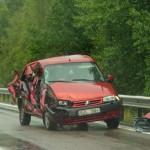 Bil och lastbil E22 Galtsjön
