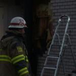 Brand i husvägg Vinberga