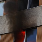 Lägenhetsbrand Kungsmarken