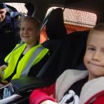 Vårmarknad i Fridlevstad polisen på besök
