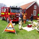 Vårmarknad i Fridlevstad brandkåren