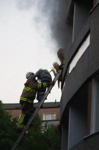 Lägenhetsbrand kmv