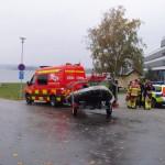 Drunkningslarm vid BTH i Karlskrona