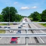 Trafikolycka E22 väster om Nättraby