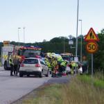 Trafikolycka Omloppsvägen Ronneby