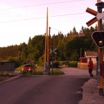 Något påkört på järnvägen mellan Spjutsbygd och Nävragöl