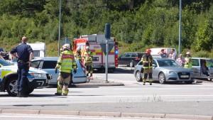 Trafikolycka Angöringen