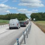 Trafikolycka E22 Hasslörondellen