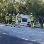 Trafikolycka rv 28 Nävragöl