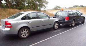 Trafikolycka Oskarsvärnsvägen