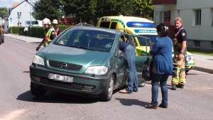 Trafikolycka centrala Ronneby