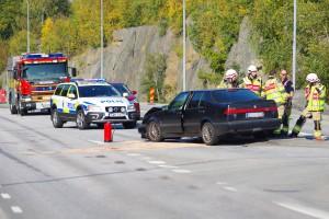 Trafikolycka Bengtsav Karlskrona