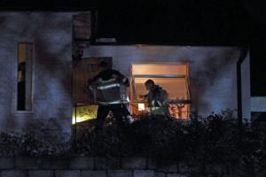 Brand i villa Hästö